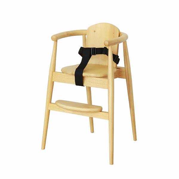 【送料無料】 スタックチェア BT(ベルト付) NA DB 子供椅子 いす イス チェアー 折り畳み式 小型 大和屋 kaupunki yamatoya ベビー キッズ kids 子供用品 北欧