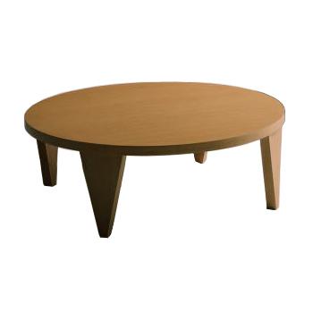 ROUND105R 清美堂 WEST POINT Floor table フロアテーブル 【送料無料】 折りたたみ 折れ脚 収納 省スペース