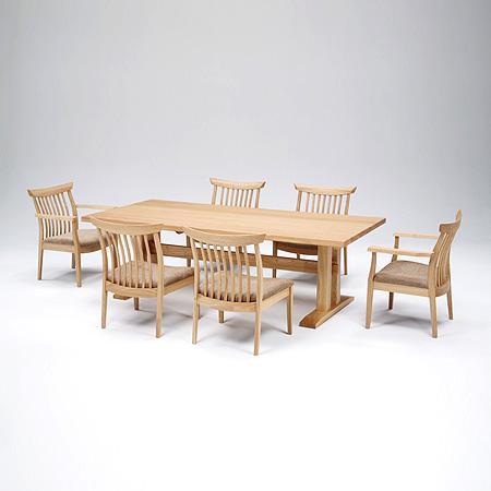 【テーブル単品】 FOREST フォレスト ダイニングテーブル (2本脚) FRT-1802 U-TOP ユートップ 【送料無料】 (utop-100408-039)