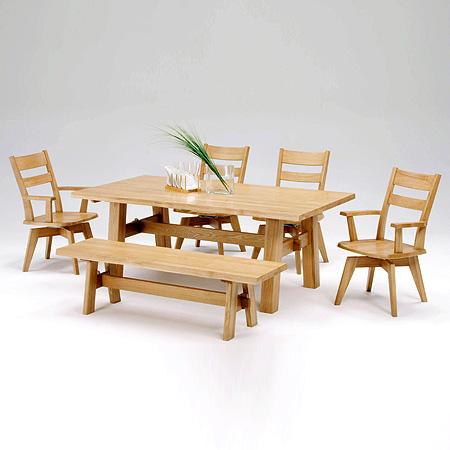 【テーブル単品】 FOREST フォレスト ダイニングテーブル (4本脚) FRT-1504 U-TOP ユートップ 【送料無料】 (utop-100408-042)