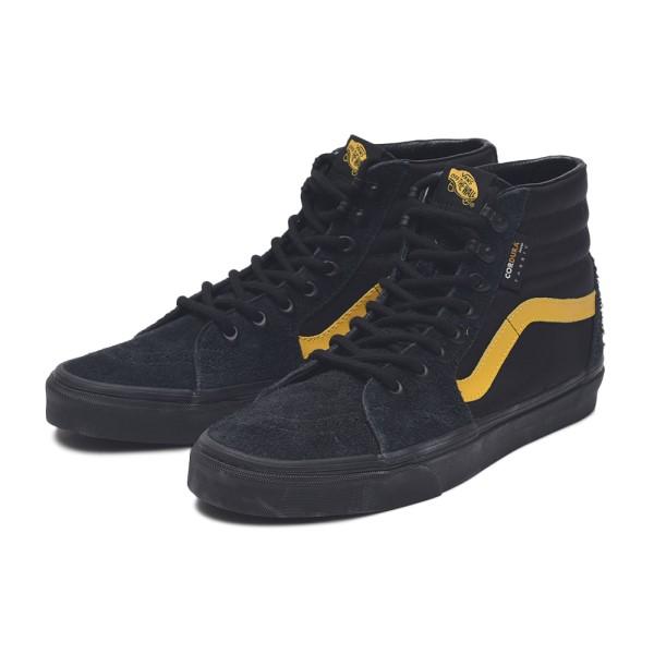 【VANS】SK8-HI ヴァンズ スケートハイ VN0A4BV60IV (CORDURA) BLACK