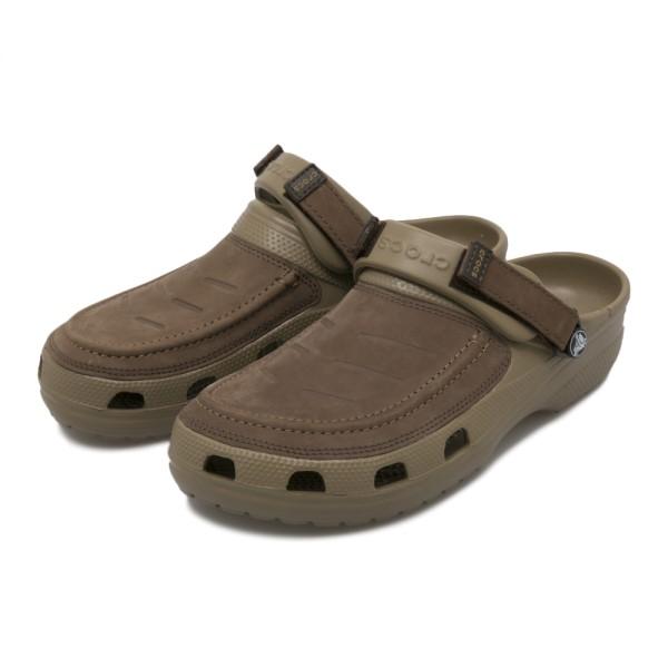 【crocs】 クロックス Yukon Vista Clog M ユーコン ヴィスタ クロッグ m 205177-22Y Espresso/Khaki