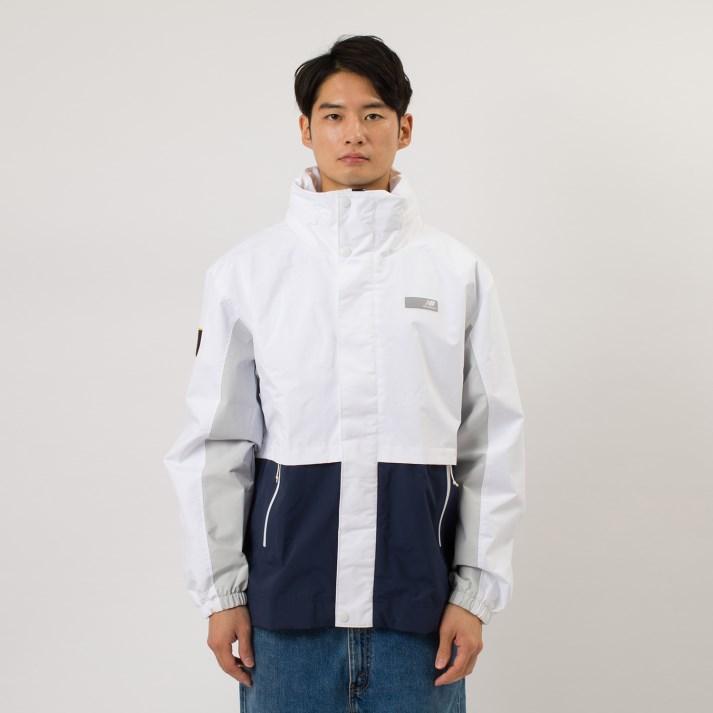 【NEW BALANCEウェア】 ニューバランス ウェア Mアスレチックスセレクトジャケット MJ01500WT WT(ホワイト)