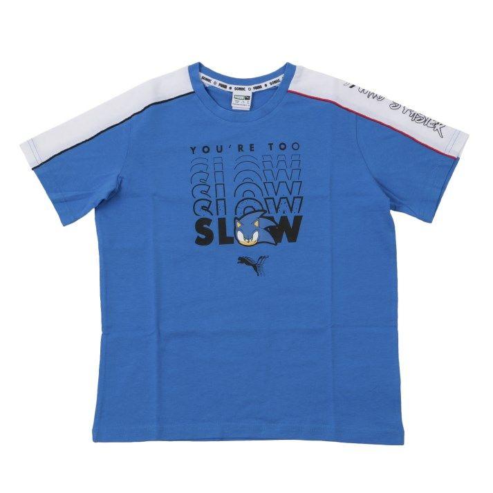 Tシャツ タンクトップ キッズ PUMA ウェア プーマ X 596312 Tシャツ 全商品オープニング価格 41PALACE SEGA BLUE アドバンス マート
