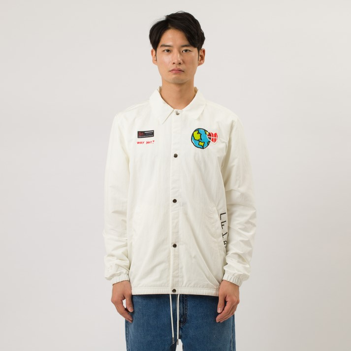 【NIKEウェア】 ナイキウェア M AJ WHY NOT? ジャケット CW4268-100 100SAIL/BLACK