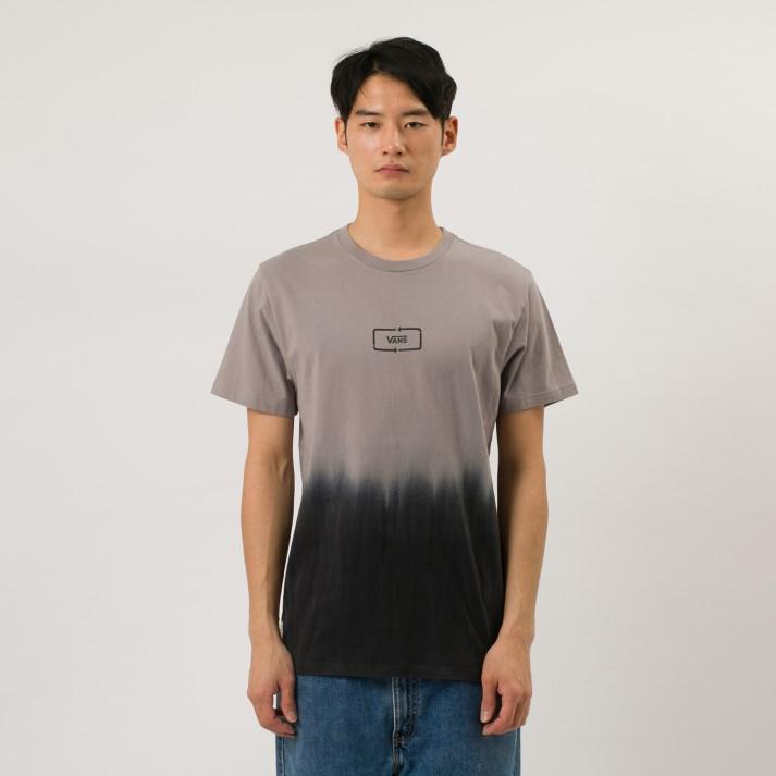 Tシャツ 有名な タンクトップ VANSウェア VANS2K DIP DYED ヴァンズ ショートスリーブTシャツ 奉呈 VN0A49SXBLK SS BLACK