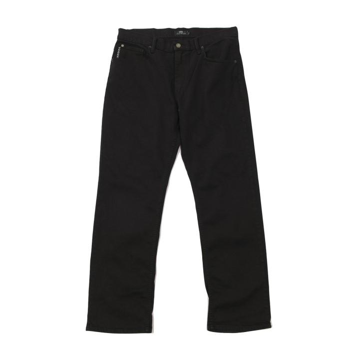 【VANSウェア】STRAIGHT DENIM / KYLE WALKER ヴァンズ デニムパンツ VN0A4TROBLK BLACK 2