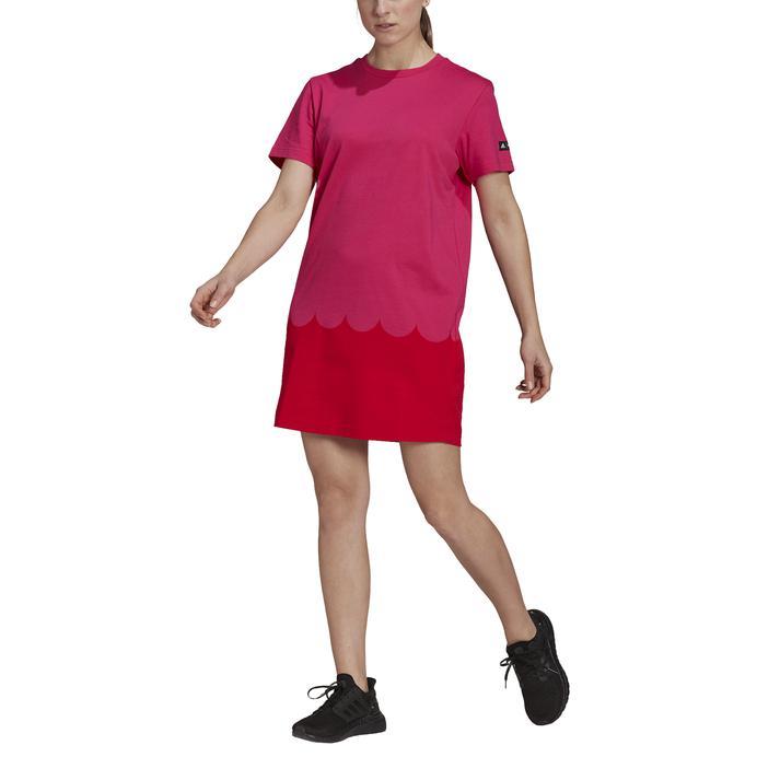 スポーツウェア Tシャツ タンクトップ 送料無料 レディース adidas アディダス MARIMEKKO TRMA マリメッコ W 人気ブランド多数対象 GT8813 送料0円 TEEドレス ワンピース