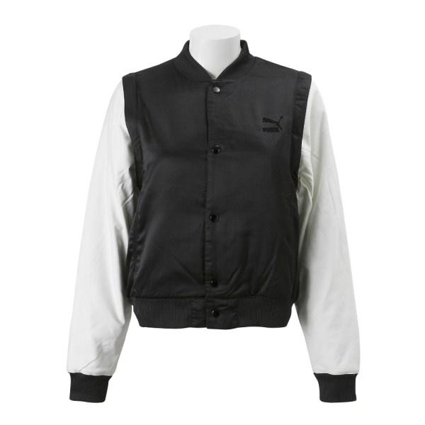 レディース 【PUMA ウェア】 プーマ W ARCHIVE ボンバー ジャケット 574768 01PUMA BLACK