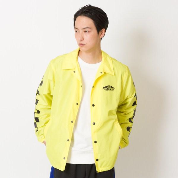 【VANS】Neon Color Coach Jacket ヴァンズ ネオンカラーコーチジャケット VA19SS-MJ04 N-