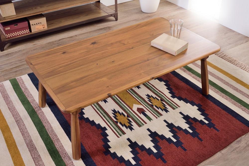 天然木を使ったこたつテーブル 送料無料 東谷 azumaya 税込 ナチュラル色 KT-104N オンラインショップ 天然木 アカシア