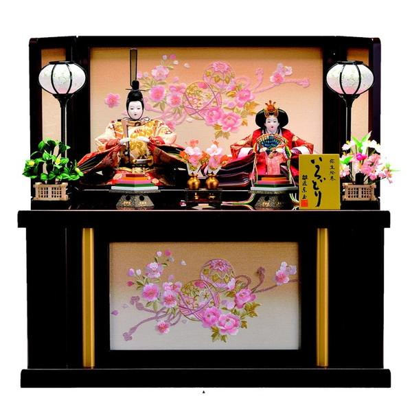 【東玉】ひな人形 収納飾り 親王飾り みのり 31903【送料無料】【購入特典あり】