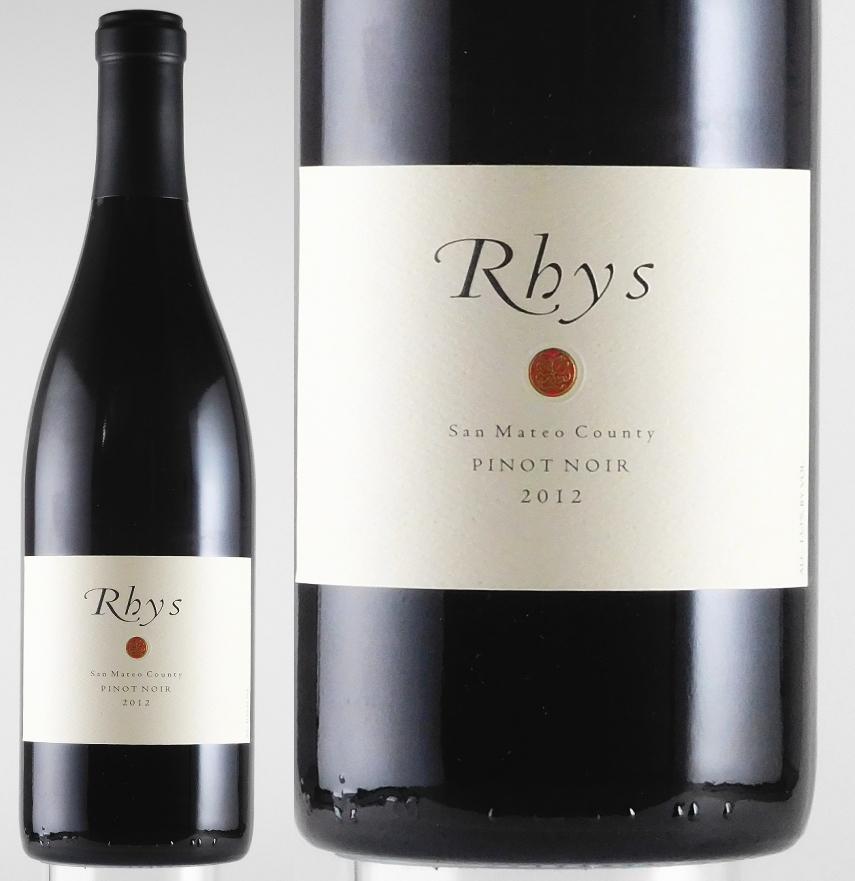 リース ピノ・ノワール サン・マテオ・カウンティ [2012]年 750ml 【赤ワイン】【フルボディ】