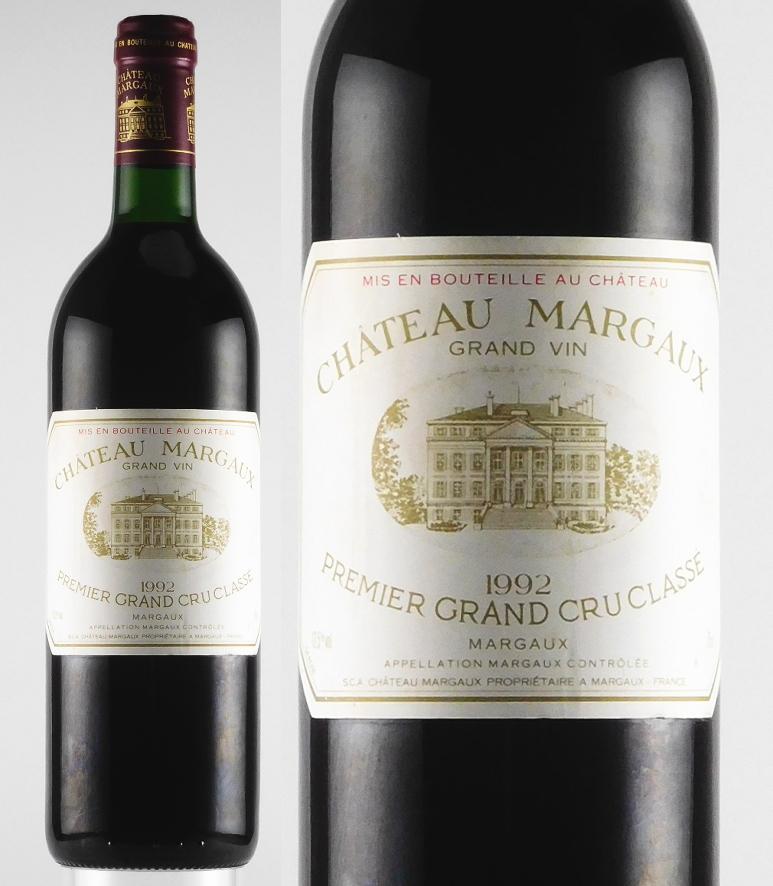 シャトー・マルゴー [1992]年(750ml)≪1992年ボルドー・ベスト・ワイン≫【ボルドー/赤】