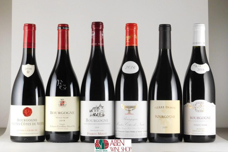 ブルゴーニュ赤ワイン有名6生産者 送料無料 商品追加値下げ在庫復活 ブルゴーニュ赤ワイン6本6種類 ワインセット ランキング総合1位 750mlPART-210 赤ワイン フランス ブルゴーニュ お返し ホワイトデー フルボディ