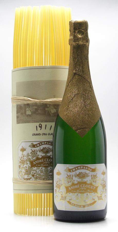 アンドレ・クルエ アン・ジュール・ド・ミルヌフサンオンズ / UN JOURS DE 1911 NV 750ml シャンパン(発砲・白)【スパークリングワイン】