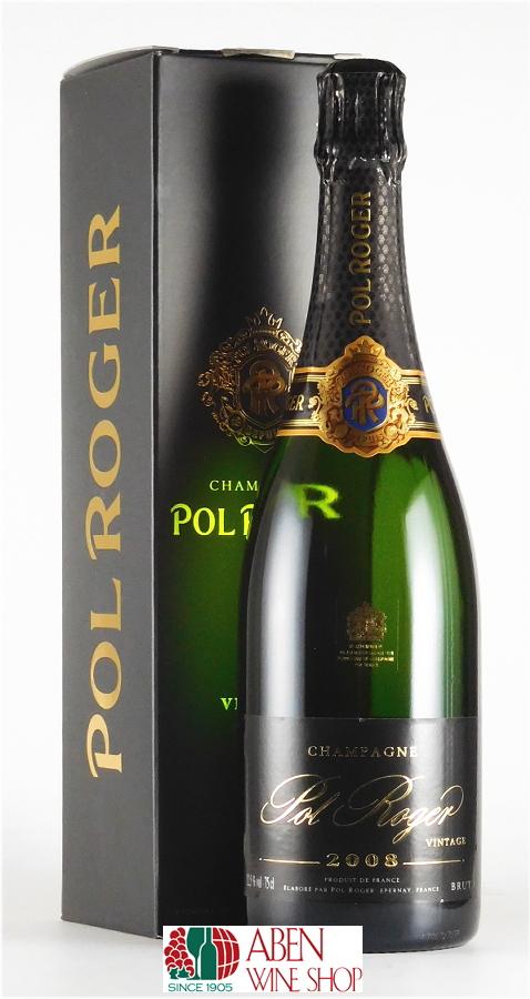 ポル・ロジェ・ブリュット・ヴィンテージ  [2009]年(ギフト箱入り/750ml)【スパークリングワイン】【発泡】【白ワイン】【辛口】【正規品】