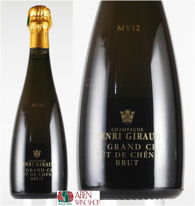アンリ・ジロー/フュ・ド・シェーヌ・アイ・グラン・クリュ MV12(750ml)【スパークリングワイン】