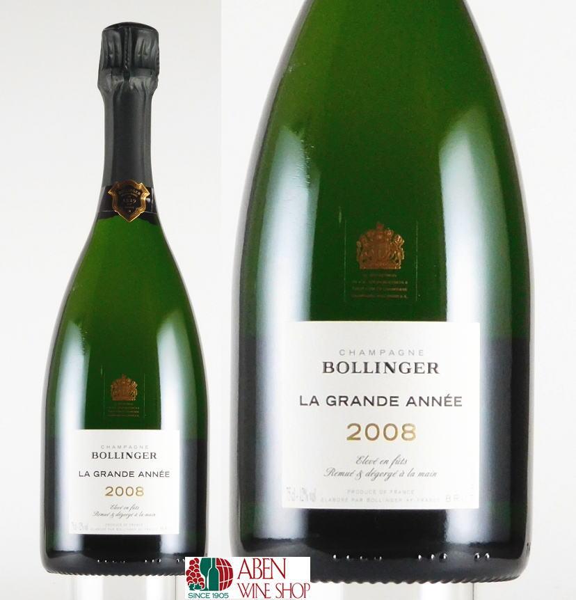 ボランジェ・グラン・ダネ・ブリュット [2008]年(750ml) 【発泡】【白ワイン】【辛口】【正規品】