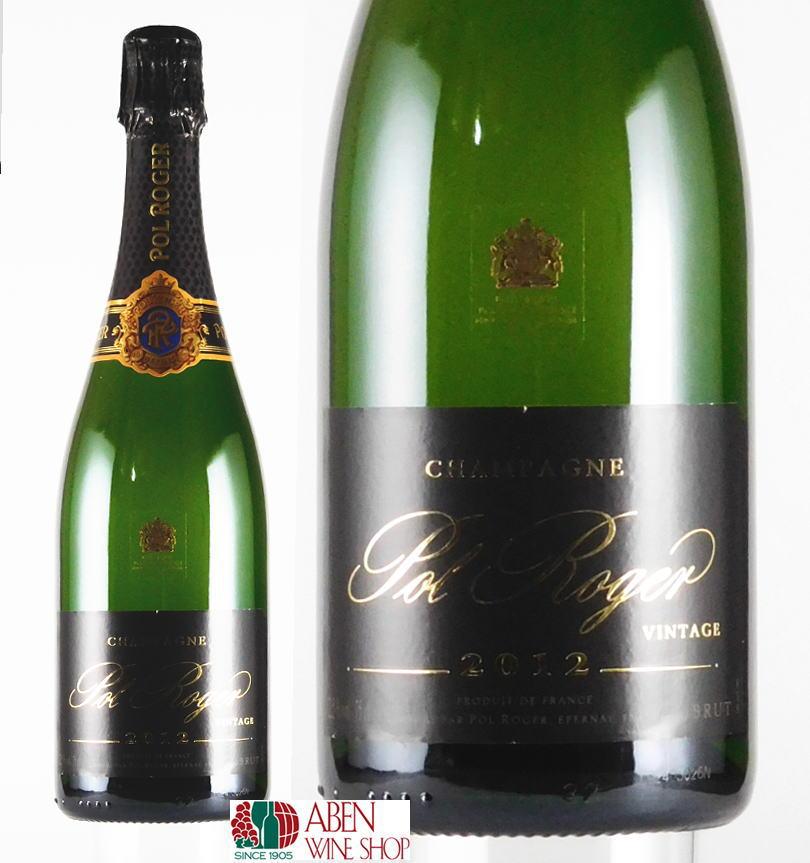 ポル・ロジェ・ブリュット・ヴィンテージ  [2012]年(750ml)【スパークリングワイン】【発泡】【白ワイン】【辛口】【正規品】