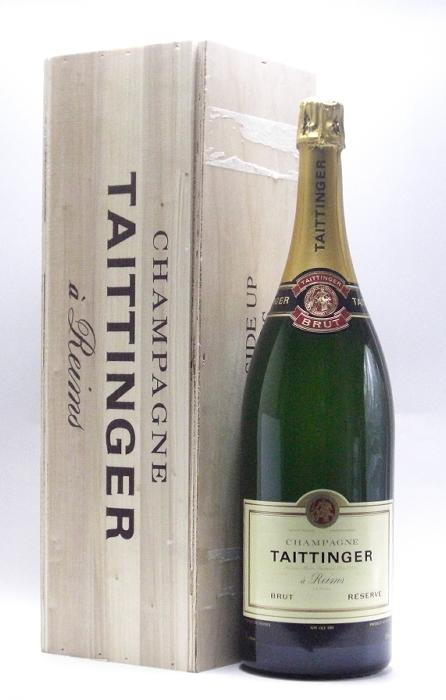 テタンジェ・ブリュット・レゼルブ NV ジェロボアム(3000ml) 【発泡】【白ワイン】【辛口】