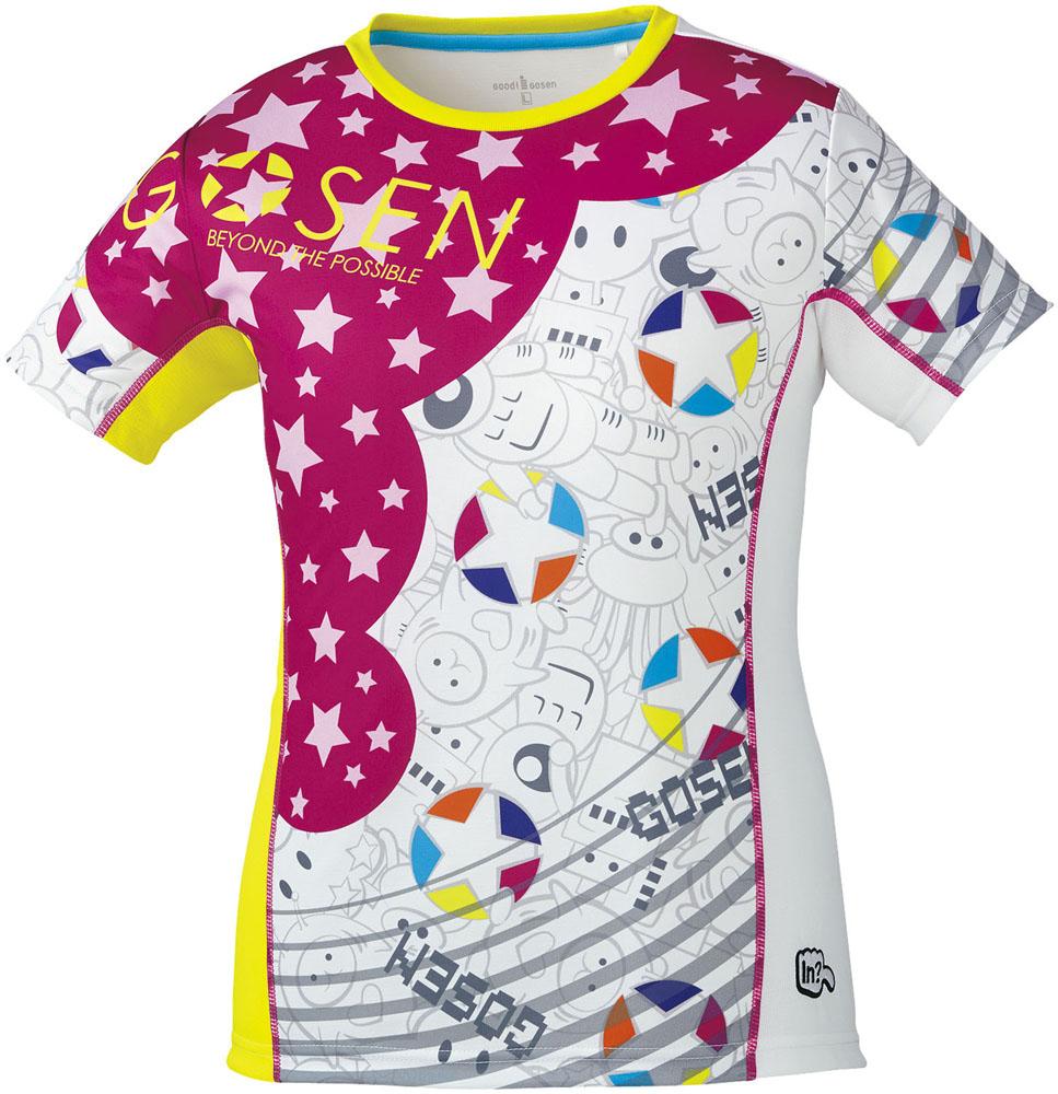 取寄せ品 【ゴーセン】 レディースファンプラシャツ (UT1801) 30 ホワイト XL