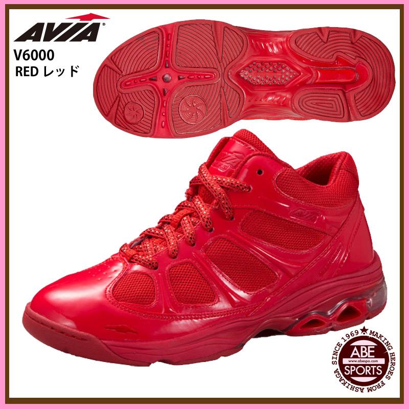 【AVIA】フィットネスシューズ AVIA シューズ  (V6000) RED レッド 限定モデル