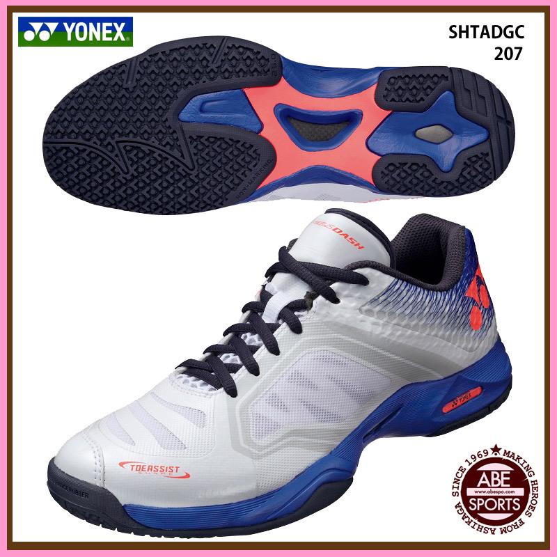 【ヨネックス】 POWER CUSHION AERUSDASH GC パワークッションエアラスダッシュ テニスシューズ/オムニ・クレーコート/YONEX (SHTADGC) 207カラー