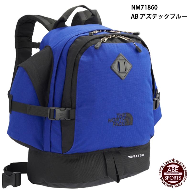 【THE NORTH FACE】Wasatch ワサッチ/ノースフェイス/スポーツバッグ (NM71860) AB アズテックブルー