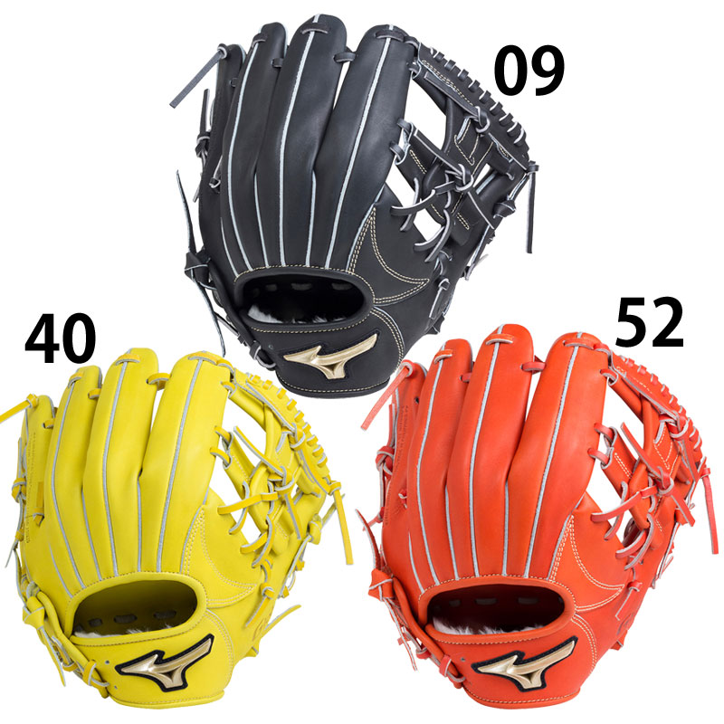 【ミズノ】 Hselection01 軟式用[内野手用:サイズ9] グローブ 野球/BASEBALL/軟式グローブ/ミズノ/MIZUNO (1AJGR18213)