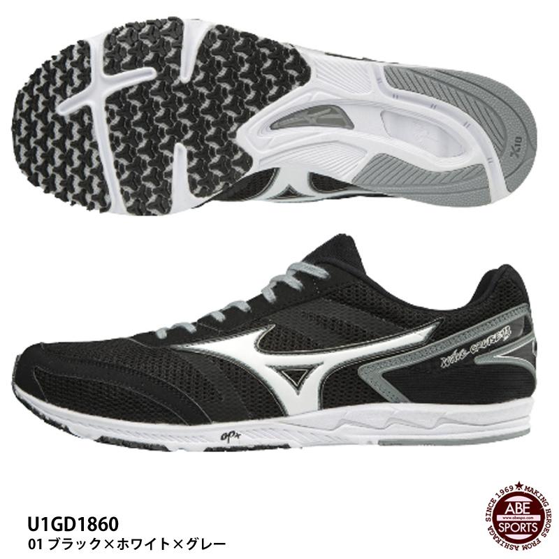 日本未入荷 【ミズノ 13】ウエーブクルーズ 13 WAVECRUISE/ランニングシューズ/マラソンシューズ 01/MIZUNO (U1GD1860) (U1GD1860) 01 ブラック×ホワイト×グレー, エヌプランニング:a37f787b --- konecti.dominiotemporario.com