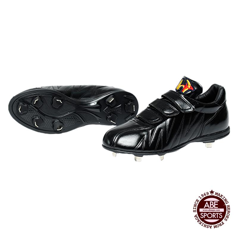 【ワールドペガサス】 樹脂底スパイク ベルトタイプ スパイク 野球/BASEBALL/ワールドペガサス (WSU801) 9090 ブラック/ブラック