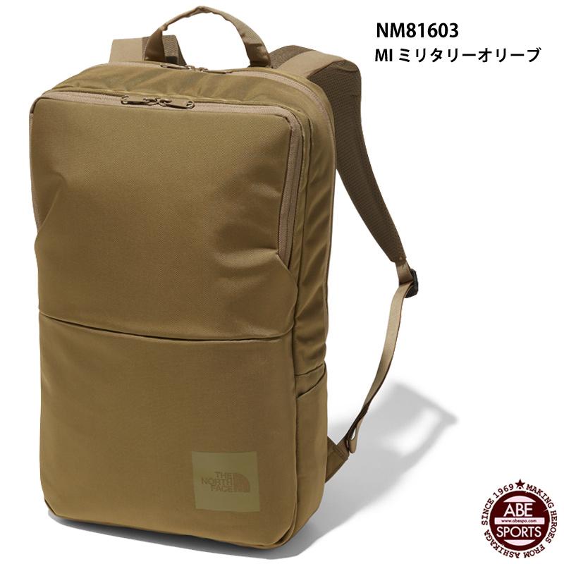 【THE NORTH FACE】Shuttle Daypack Slim シャトルデイパックスリム/ノースフェイス/スポーツバッグ(NM81603) MI ミリタリーオリーブ