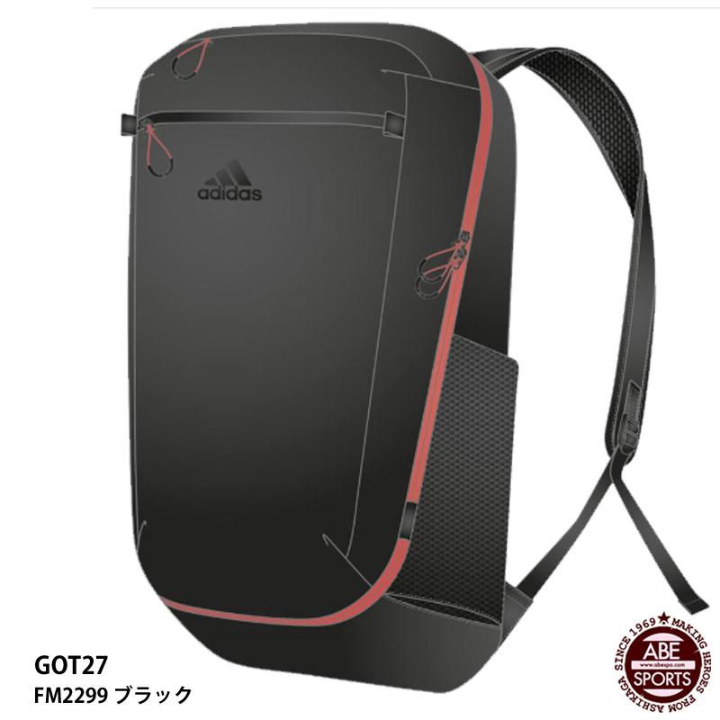 【アディダス】OP/Syst. BP30 S バックパック/スポーツバッグ/adidas (GOT27)FM2299 ブラック