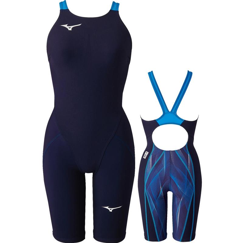 【ミズノ】 MX・SONIC アルファ ハーフスーツ ジュニア女子水着/ジュニア水着/トップレーシング水着/高速水着/競泳水着 (N2MG0412)