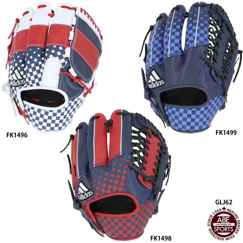 【アディダス】 軟式 カラーグラブ 軟式グラブ/軟式グローブ/アディダス/野球用品 (GLJ62)