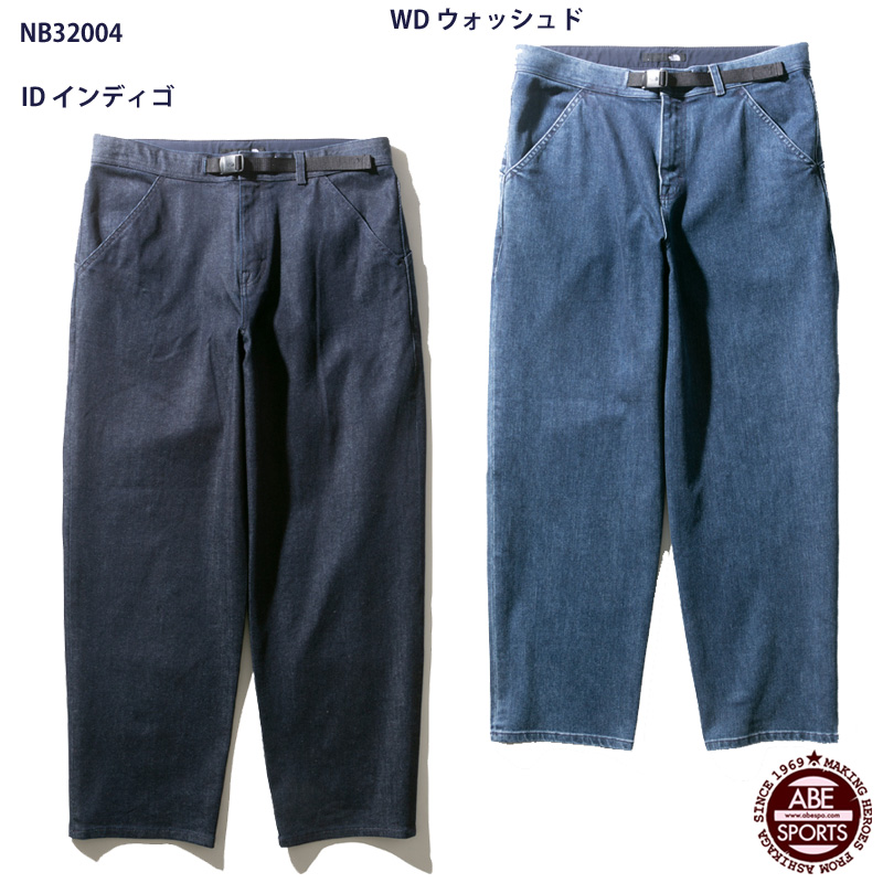 【THE NORTH FACE】Denim Climbing Baggy Pant ザノースフェイス(NB32004)