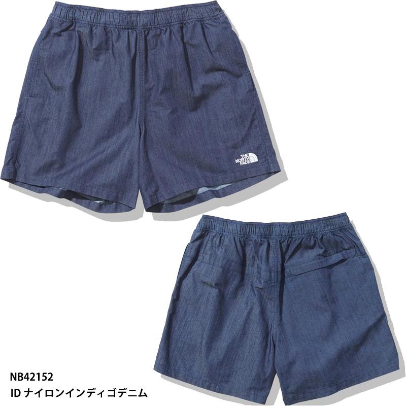 ネコポス選択可 THE 日本限定 NORTH FACE Nylon Denim Versatile Short ショートパンツ NB42152 ノースフェイス ナイロンデニムバーサタイルショーツ ID 送料無料お手入れ要らず 正規品 ナイロンインディゴデニム
