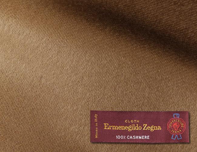 【最大44倍】オーダーメイドコート [生地の銘柄] Ermenegildo Zegna [色] ベージュ(薄い茶) [柄] 無地 [品質] カシミア100% , 360gr. woven in Italy. [秋冬向け][送料無料]