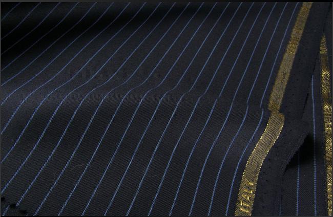 オーダースーツ [ブランド]Moncada モンカーダ / SUPER 120'S [色]濃紺[柄]ストライプ[ブランド][秋冬向け][送料無料]【02P03Dec16】 fs04gm