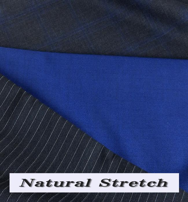 【クーポンでお得】オーダースーツ ナチュラルストレッチ素材 サマースーツ オーダーメイドスーツ メンズ オーダーメード Natural Stretch ストレッチスーツ 春夏向け