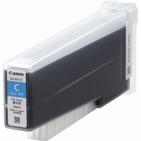 Canon キヤノン 純正インクカートリッジ LX-D5500用 シアン<BJI-P511C>