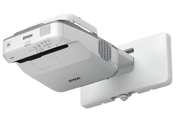 【納期:問い合せ】EPSON エプソン 超短焦点壁掛け対応モデル 3500lm XGA プロジェクター <EB-680>