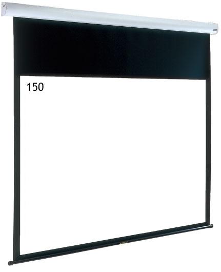 IZUMI サイレントモータードライブ式 大型天吊りスクリーン 150インチ IS-EL150