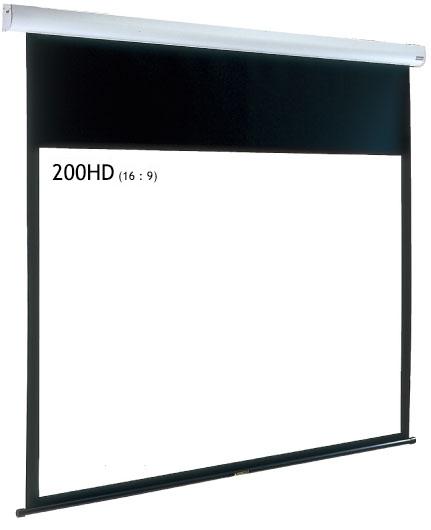 IZUMI サイレントモータードライブ式 大型天吊りスクリーン 200インチ IS-EL200HD