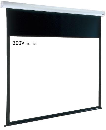 IZUMI サイレントモータードライブ式 大型天吊りスクリーン 200インチ IS-EL200V