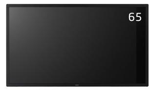 NEC 大画面液晶ディスプレイ タッチパネルモデル E-Tシリーズ 65型 MultiSync LCD-E651-T