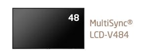 NEC 48型 大画面液晶ディスプレイ MultiSync LCD-V484