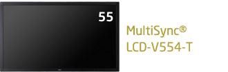 NEC 大画面液晶ディスプレイ 高耐久 タッチパネルモデル V-Tシリーズ 55型 MultiSync LCD-V554-T