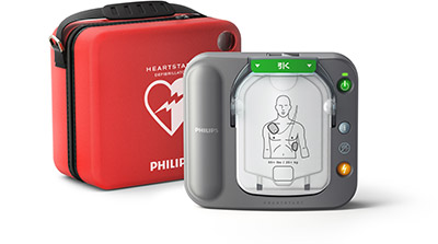 フィリップス社 AED(自動体外式除細動器) ハートスタートHS1+